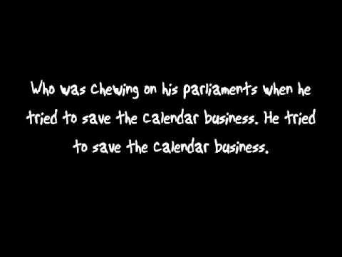 Mad as Rabbits- Panic at the Disco (Lyrics on Screen)