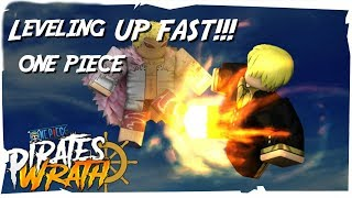 HOW TO LEVEL UP FASTER!?| One Piece Pirates Wrath | Roblox |