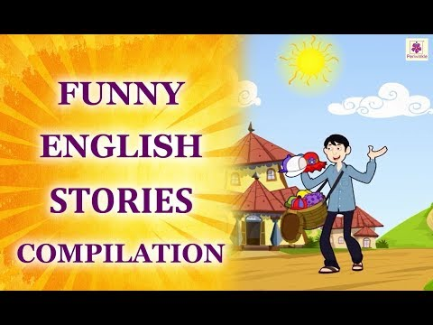 English Stories For Kids | Funny English Stories Compilation