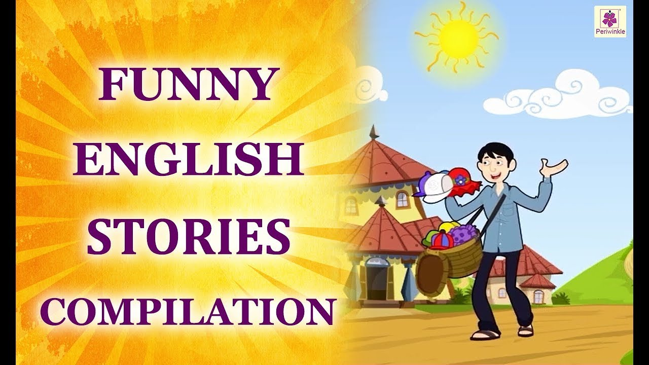 English Stories For Kids | Funny English Stories Compilation For Children | Periwinkle