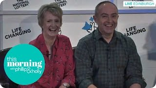Historic Lottery Winners Reveal Their Identity Live On Air | This Morning