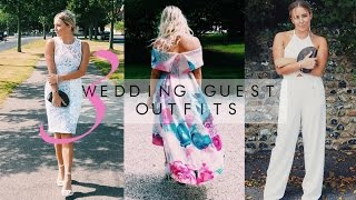 SUMMER WEDDING GUEST OUTFITS || ASOS, LIPSY,