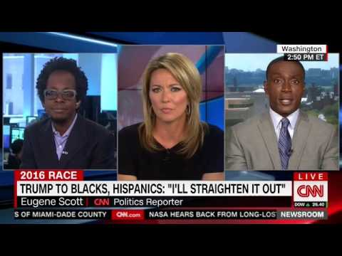 Eugene Scott and Rich Benjamin on Trump actually appealing to black voters (8.24.16)