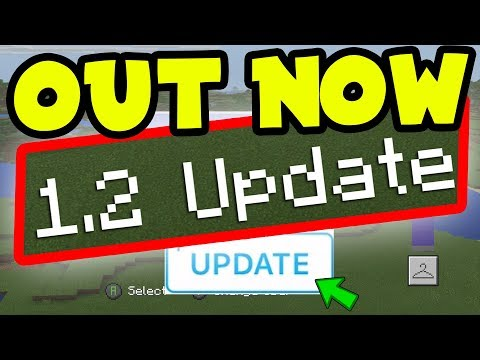 NEW 1.2 Update OUT NOW! Minecraft (Pocket Edition, Xbox, Switch) Gameplay