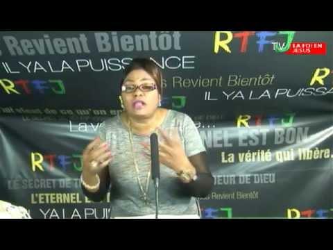 """l'émission """" l'Alliance Divine """" Avec le Pasteur Honorine Izaw  Thème: Combat Spirituel"""
