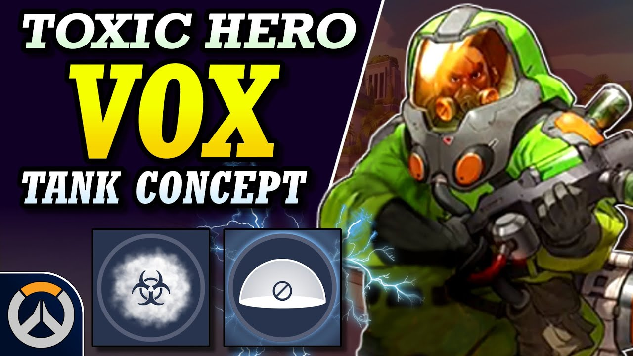Download Overwatch - New Hero VOX Concept | Toxic Talon Hazmat Tank!