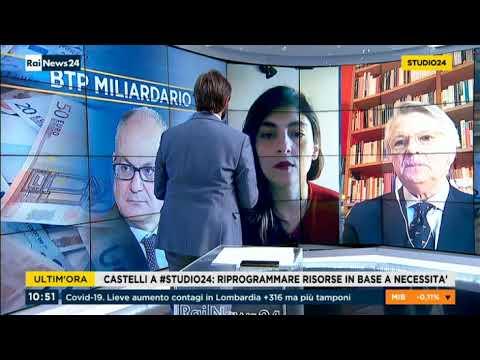 Laura Castelli ospite a RaiNews24 22/05/2020