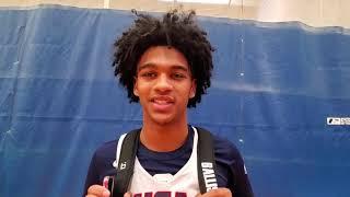 Skyy Clark: 2019 USA Basketball Junior Minicamp Interview