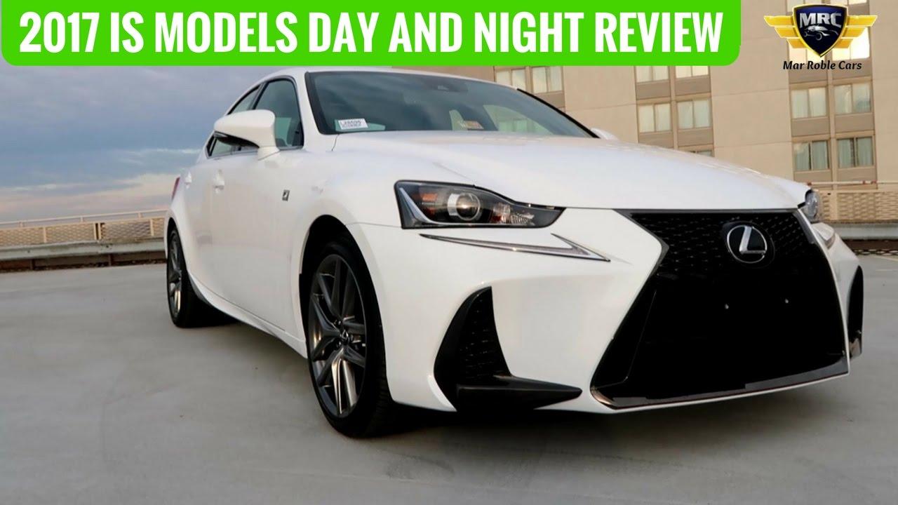 2017 Lexus Is Models