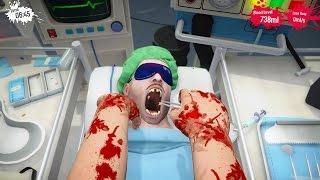 Surgeon Simulator PS4 - PULLING TEETH!