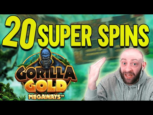 20 Super Spins On Gorilla Gold, £5 Golden Ticket 2, & Dog House Megaways!
