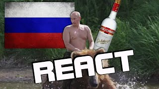 React: A Normal Day In Russia #1