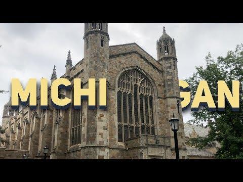 UNIVERSITY OF MICHIGAN CAMPUS TOUR | Lucas Felpi