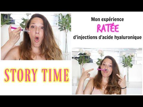 STORY TIME : MON EXPÉRIENCE RATÉE D'INJECTIONS D'ACIDE HYALURONIQUE !