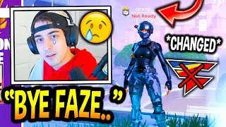 "Cloakzy SHOCKS Everyone After *CHANGING* His In-Game Name! *RIP* ""FaZe Cloak"" (Fortnite Moments)"