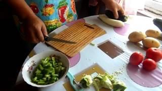 Рецепт очень вкусной Дунганской лапшы (чузма-лагман)