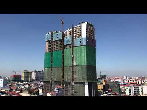 Behind of Phnom Penh Sity - Cambodia