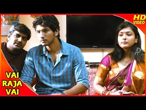Vai Raja Vai Tamil Movie | Scenes | Vasanth And Sriranjini Talk About Gayathri's Marriage | Gautham