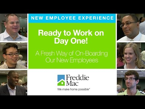 Freddie Mac's New Employee Experience -- Ready to Work on Day 1