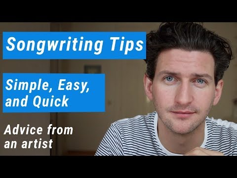 5 Songwriting Tips | Simple, Easy and Quick