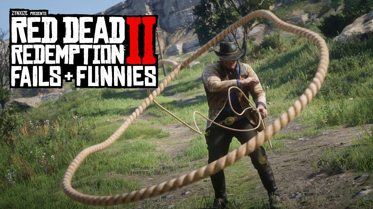 Red Dead Redemption 2 - Fails & Funnies #110 thumbnail