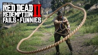 Red Dead Redemption 2 - Fails & Funnies #110