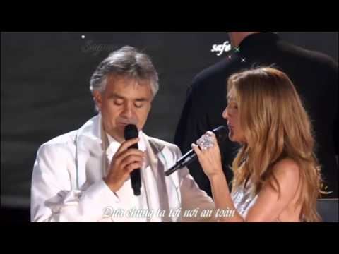 Céline Dion & Andrea Bocelli  The Prayer Vietsub