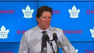 Maple Leafs Post-Game: Mike Babcock - October 15, 2019