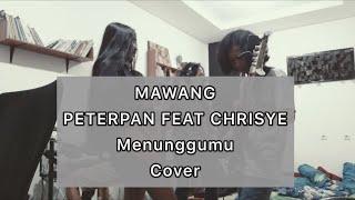 PETERPAN feat CHRISYE - MENUNGGUMU (cover) @SEU_RECORD PROYEK LANGSUNG TEMBAK LAGU