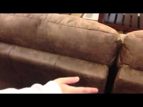 How to remove the back from a La Z Boy sofa