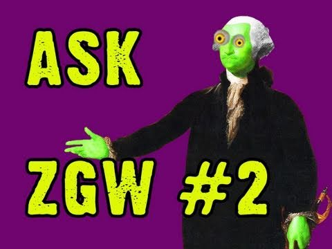 Ask Zombie George Washington #2: Nyan Cat's Bwains?