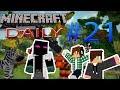 Minecraft Оцеляване | Daily | Еп. 21 | Продължавам да строя къщата :)