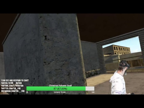 PUBG in VR! WAITING FOR FALLOUT 4 VR TONIGHT! Come hang out and talk!