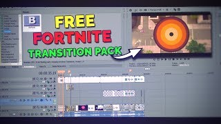 Free Fortnite Transition pack 2.0 // Sony Vegas pro 14/15 // Transitions used by Fortnite Youtubers