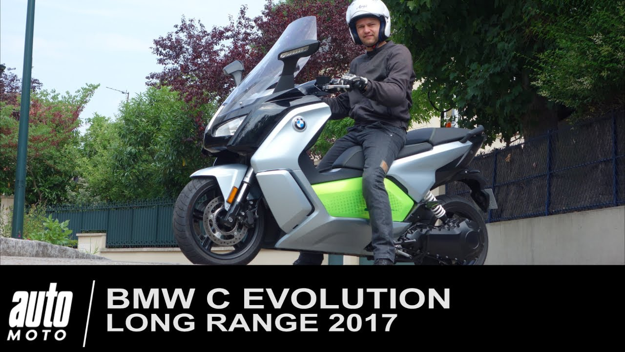 2017 bmw c evolution long range essai du scooter lectrique de munich youtube. Black Bedroom Furniture Sets. Home Design Ideas
