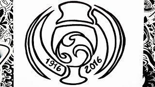 Como Dibujar El Logo De La Copa America Centenario How To