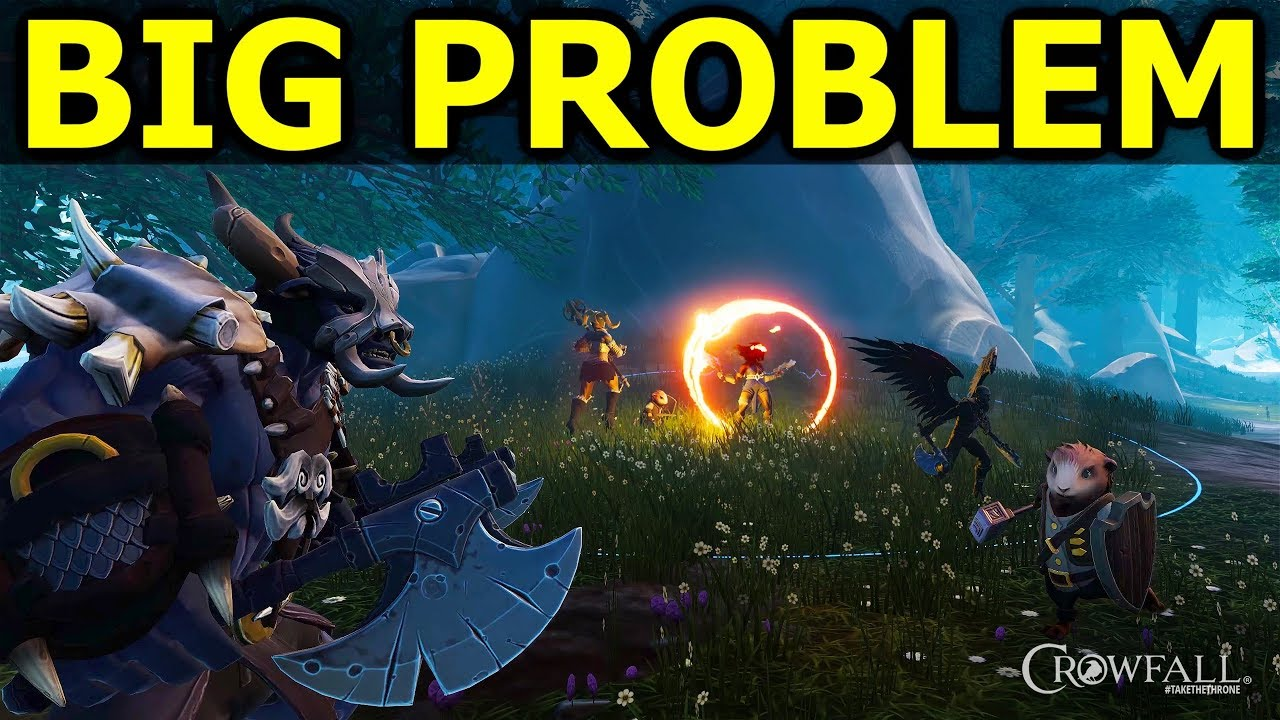 Crowfall's Biggest Problem: Losing Still Needs to be FUN! Incentive To Keep  Playing When Losing