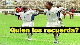 Carlos Pavón y Tyson Núñez una de las mejores duplas que tuvo la selección de Honduras.