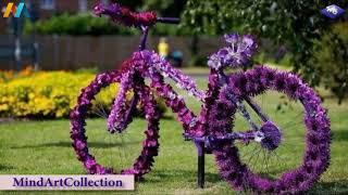 Bike Flower Garden Decoration Creative Ideas   Flower Pot
