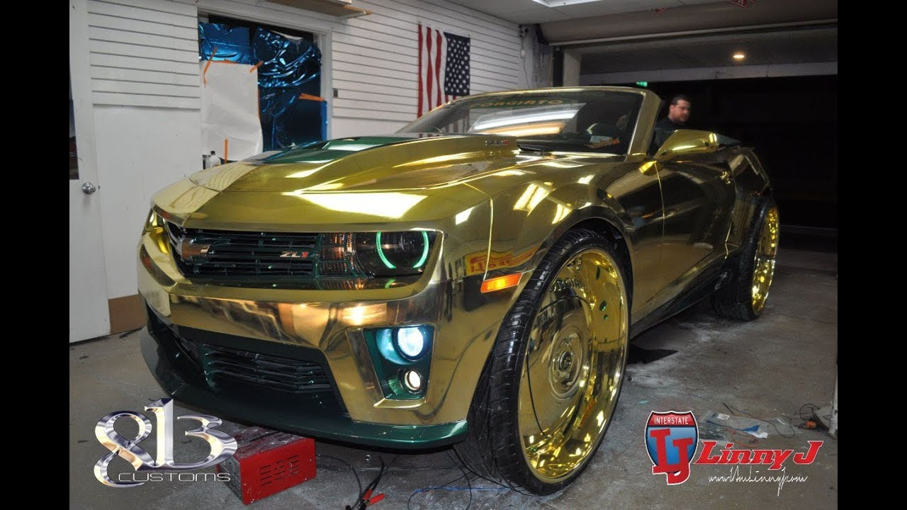 813 Customs King Zl1 Camaro Linny J Youtube