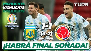 Highlights | Argentina 1(3)-(2)1 Colombia | Copa América 2021 | Semifinal