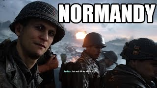 CALL OF DUTY WW2 - D-Day Omaha Beach / Normandy Invasion