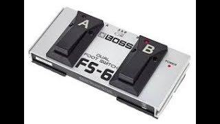 Boss FS-6 demo and review