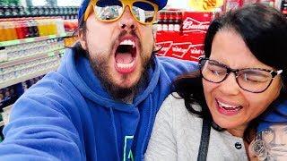 Baixar TROLLEI MINHA MÃE COM RAP NO MERCADO  Rafinha Sanchez