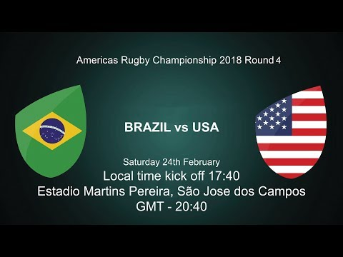 2018 Americas Rugby Championship - Brazil v USA