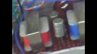 Germanium Transistor Transformer Coupled Guitar Practice Amplifier.
