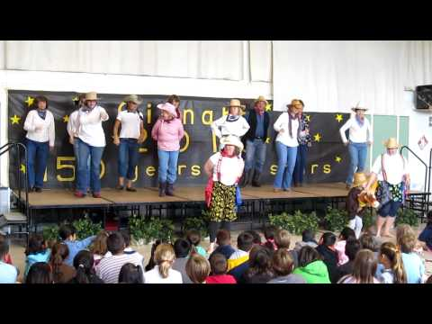 Cinnabar Elementary School staff performs in June 2010 Talent Show