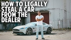How to Legally Steal a Car From the Dealer (SECRET NEGOTIATION STRATEGIES)