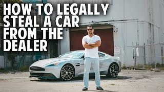 how to legally steal a car from the dealer secret negotiation strategies