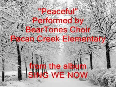 """Peaceful"" performed by BearTones Choir from Pecan Creek Elementary"
